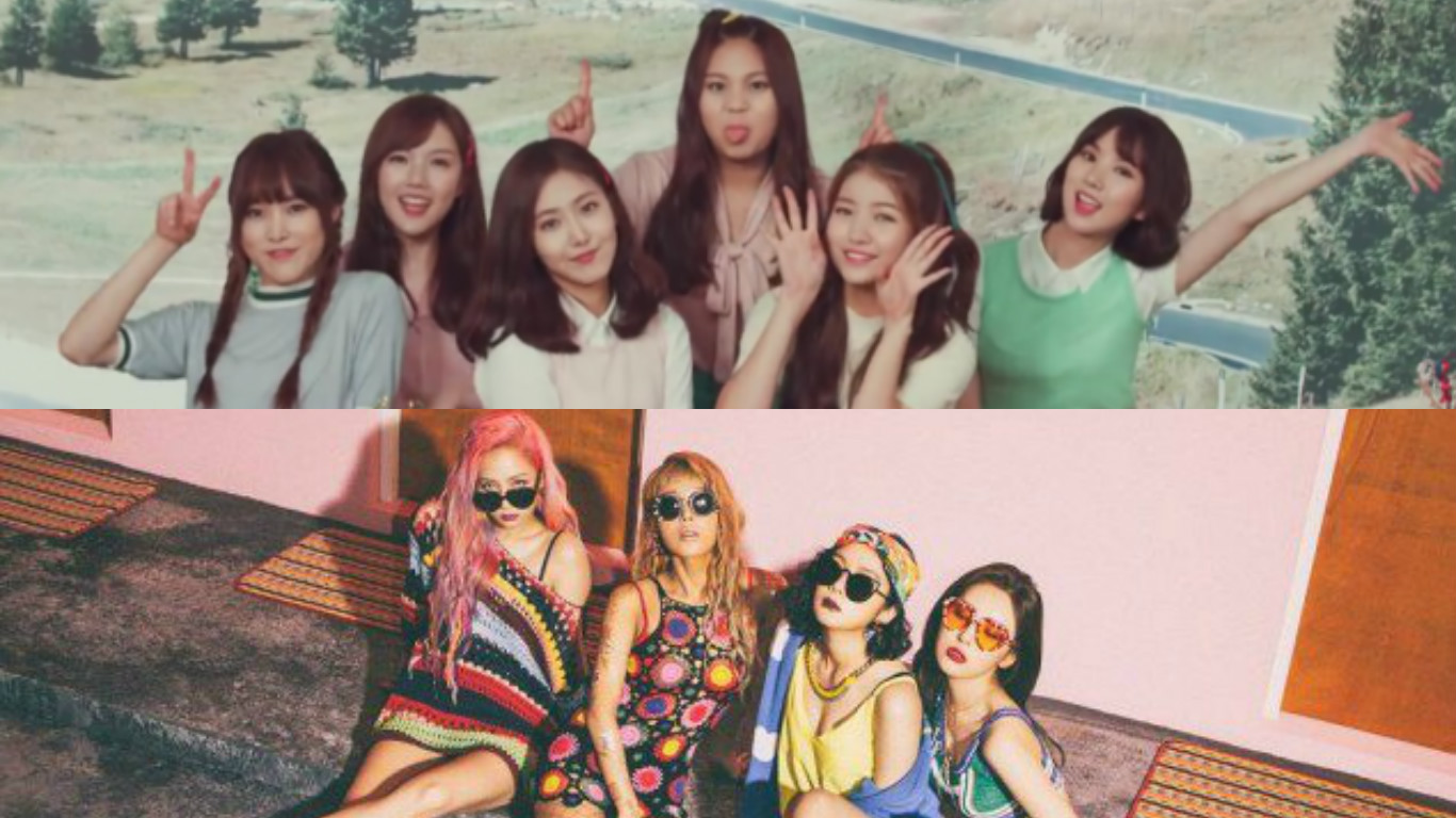 It's A Tie Breaker Between GFRIEND And Wonder Girls: Soompi's K-Pop Music Chart, July Week 5