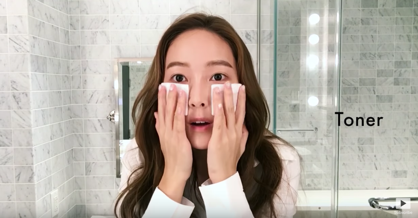Watch: Jessica Shares Her 16 Beauty Steps With Vogue America