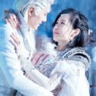 "f(x)'s Victoria's Sweet Kiss Scene Revealed In ""Ice Fantasy"" Stills"