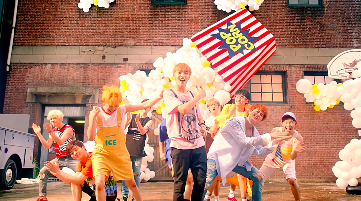 """Watch: UP10TION Has Fun Summertime Adventures In """"Tonight"""" MV"""