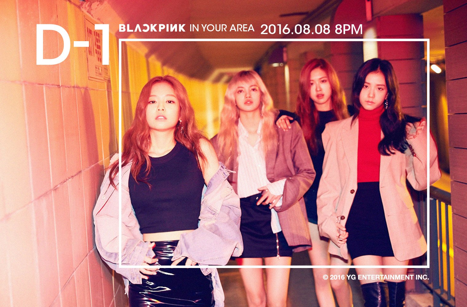 1 Day Left Until BLACKPINK's Debut; New Group Teaser Released