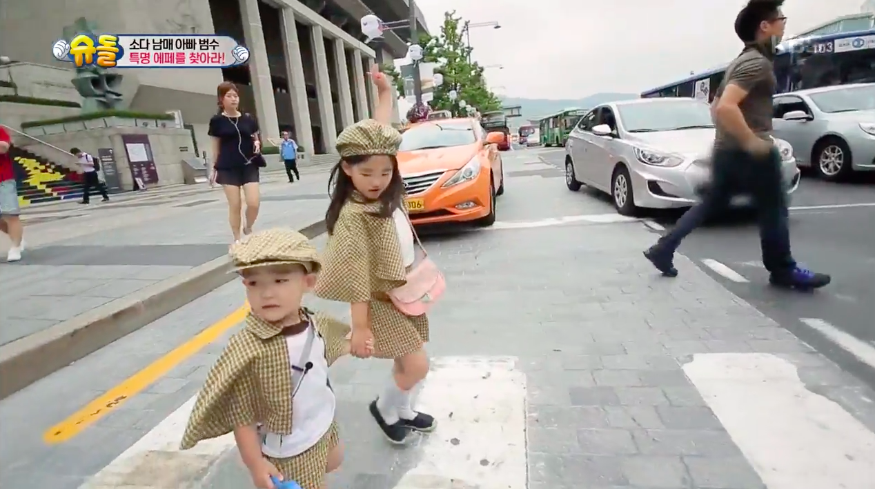 "Watch: So Eul Takes Good Care Of Her Little Bro During Their Epic Quest On ""The Return of Superman"""
