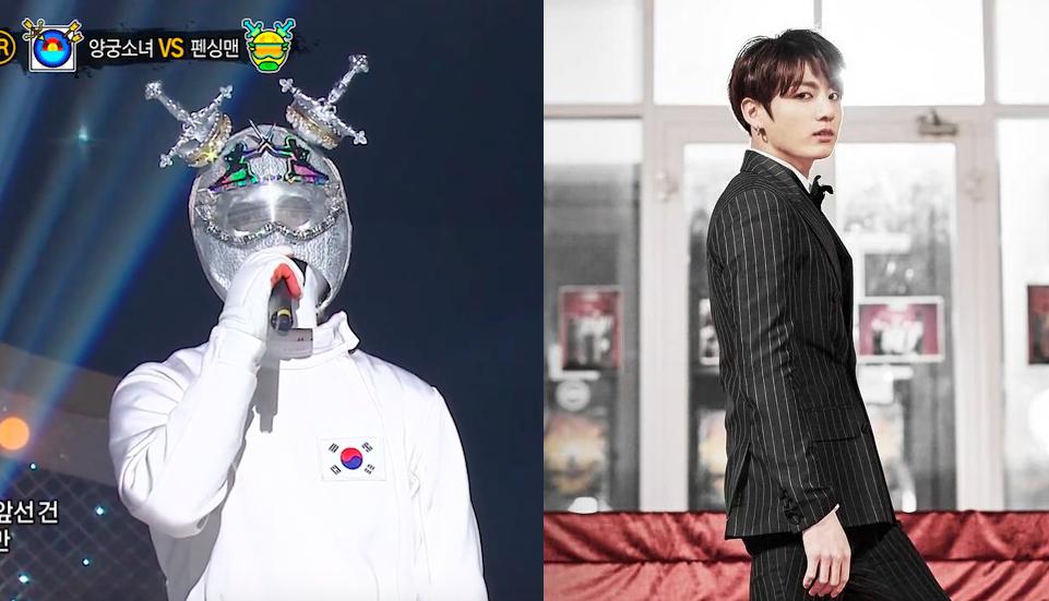 king of masked singer jungkook