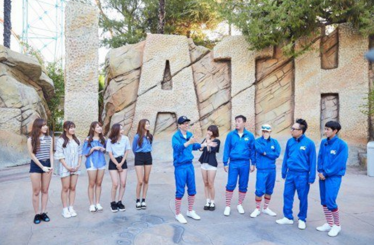 """""""Infinite Challenge"""" Takes On The World's Scariest Slide For U.S. Episode"""