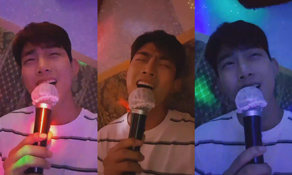 Watch: 2PM's Taecyeon Belts Out Jun.K And Baek A Yeon's Duet At Karaoke