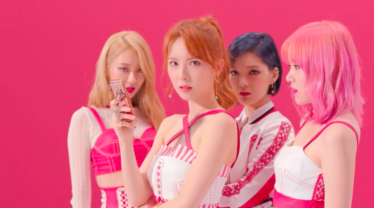 "Watch: 9MUSES Celebrates 6th Anniversary, Shares Dance Version Of 9MUSES A's ""Lip 2 Lip"" MV"