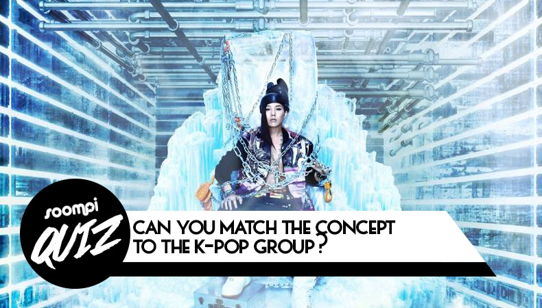 Can You Match the Concept to the K-Pop Group Quiz