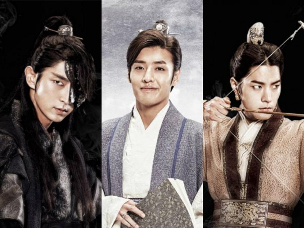 Lee Joon Gi Kang Ha Neul Hong Jong Hyun