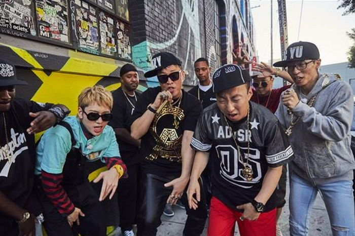 """Zico And """"Infinite Challenge"""" Are Full Of Swag In LA"""
