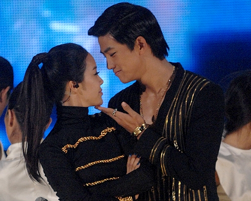 Baek Ji Young Taecyeon