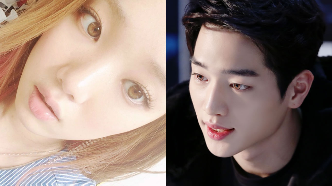 10 Striking Korean Celebrities With Unusually Colored Eyes Soompi