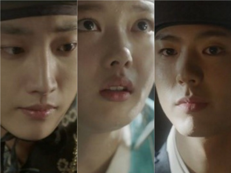 Jinyoung Kim Yoo Jung Park Bo Gum Moonlight Drawn By Clouds