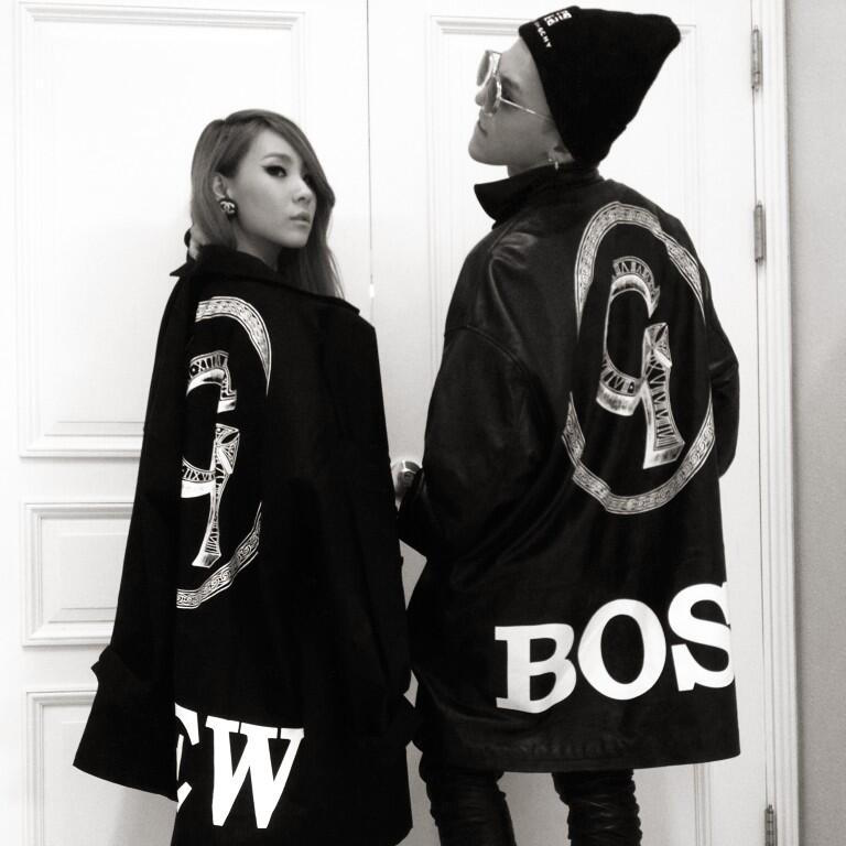 2NE1 CL BIGBANG G-Dragon