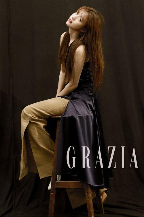 Han Hyo Joo Rocks A Red Lip In Stunning Shoot For Grazia