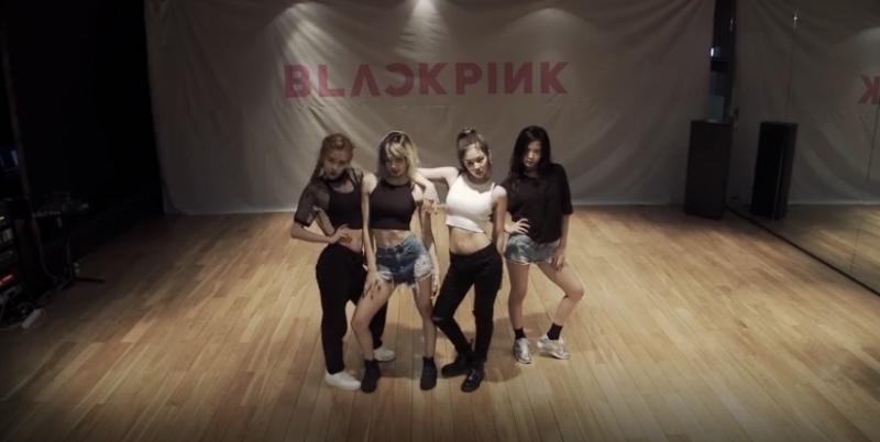 "Watch: BLACKPINK Releases ""Whistle"" Dance Practice, Gets Half Million Views In Hours"