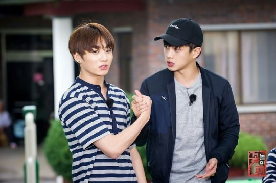 "BTS's Jungkook And Kim Min Suk Leaving ""Flower Crew"""