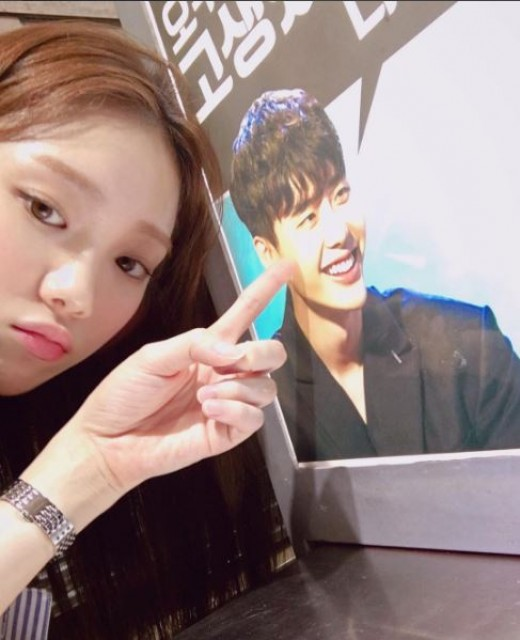 lee sung kyung lee jong suk snack truck