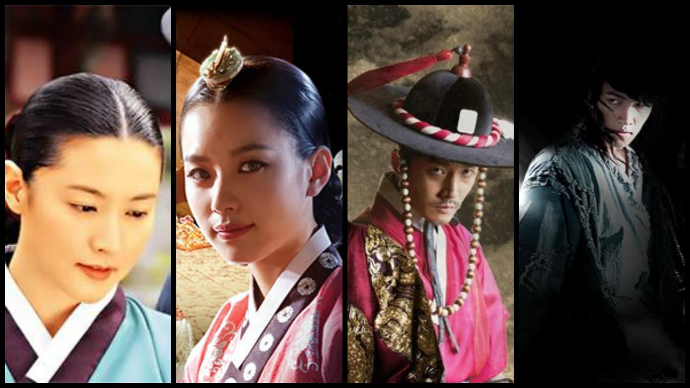 The Top 12 Sageuk K-Dramas