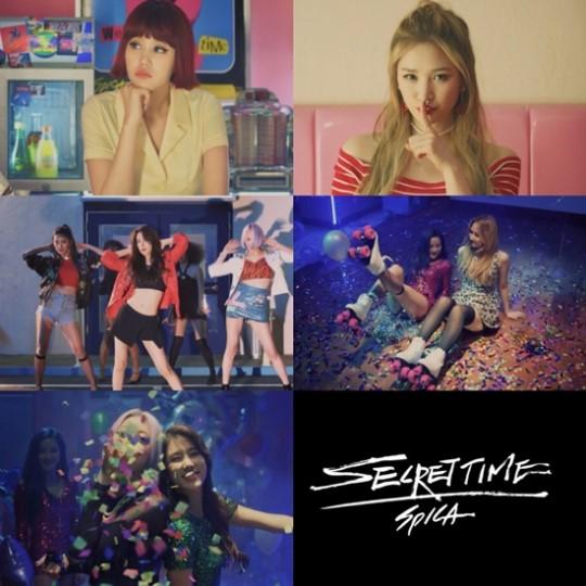 Spica Secret Time MV Teaser