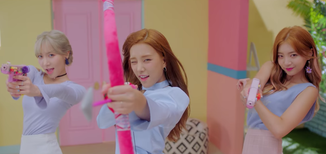"Watch: LABOUM Target Your Heart In ""Shooting Love"" MV"