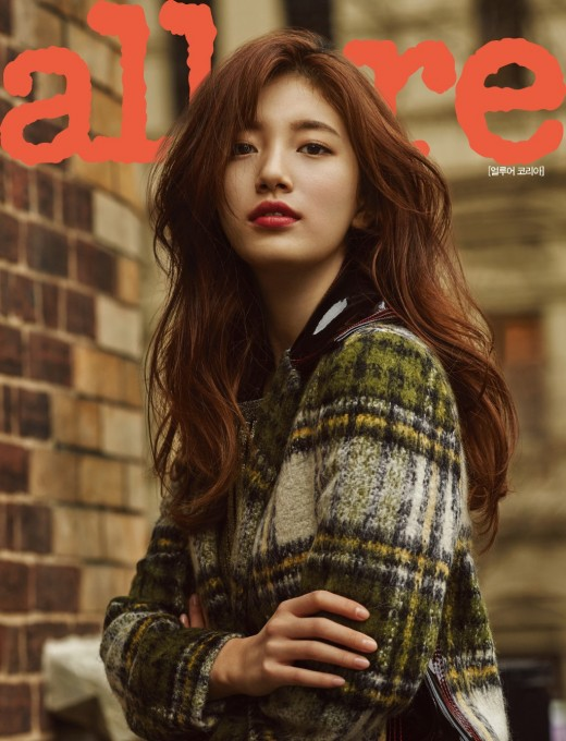 Suzy Is A Captivating Autumn Beauty For Allure