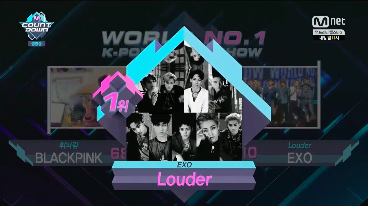 "EXO Takes 1st Win For ""Lotto"" On ""M!Countdown,"" Performances By VIXX, NCT Dream, And More"