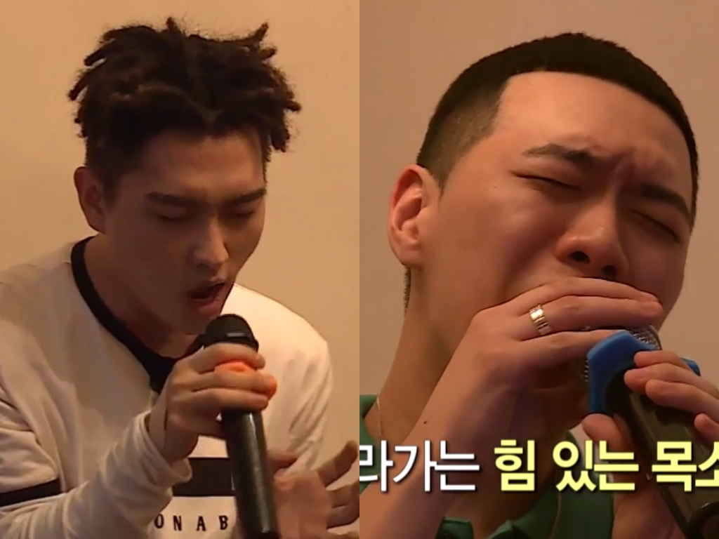 Watch: C Jamm And BewhY Give It Their All In A Vocal Showdown