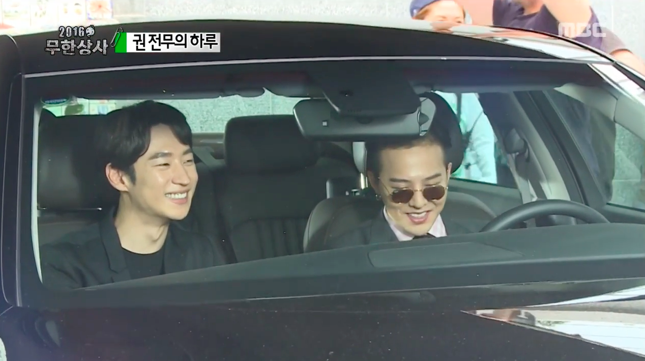 """Watch: Filming With G-Dragon Brings Out The Fanboy In Lee Je Hoon On """"Infinite Challenge"""""""