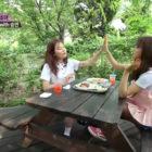 HyunA Bonds And Shares Her Wisdom With CLC's Seungyeon