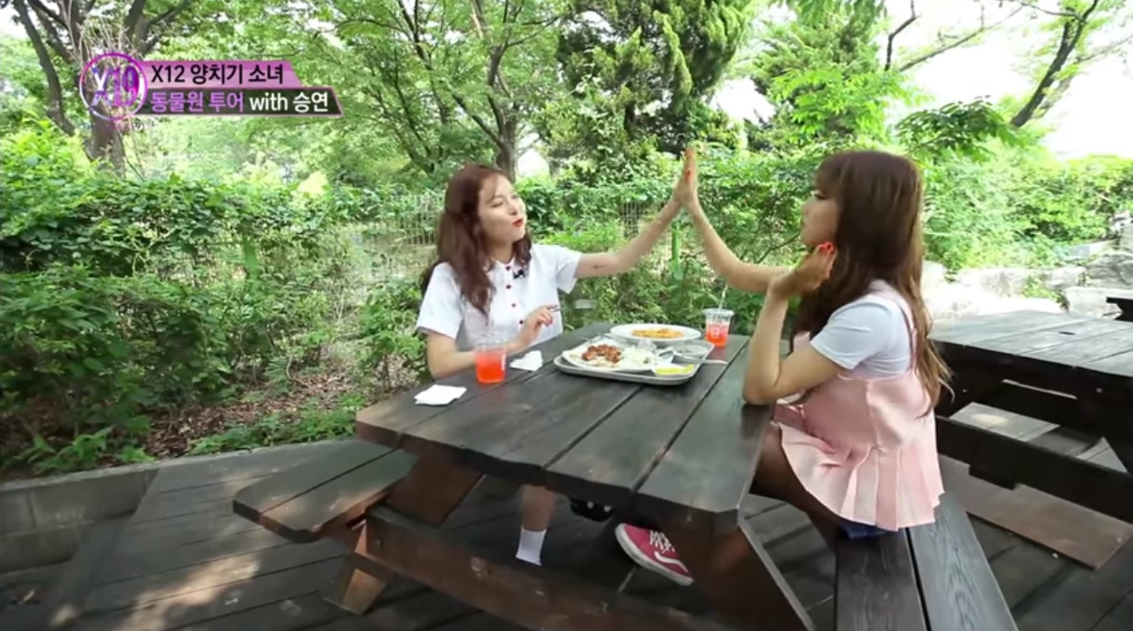 HyunA Bonds And Shares Her Wisdom With CLC's Seungyeon