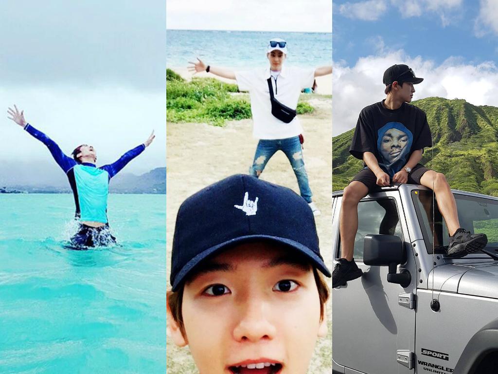EXO Shares Wanderlust-Inducing Photos From Hawaii Trip