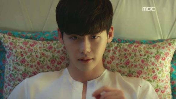 """""""W"""" Releases Behind-The-Scenes Shots Of Lee Jong Suk During Dramatic Scene"""