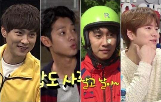 min kyung hoon lee kwang soo jung joon young kyuhyun