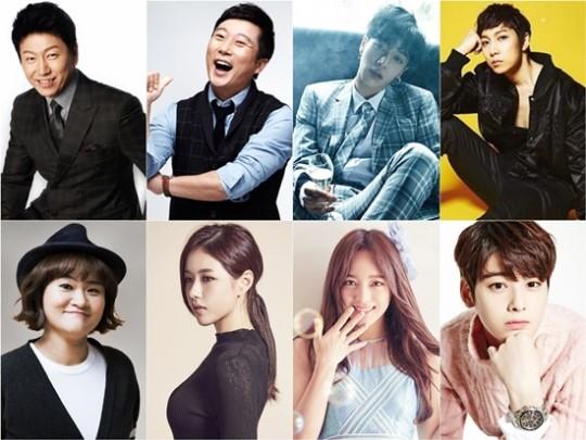 Kim Soo Roo Lee Soo Geun BEAST Lee Kikwang Ha Hwi Dong Kim Shin Young Park Ha Na gugudan Kim Sejeong ASTRO Cha Eun Woo