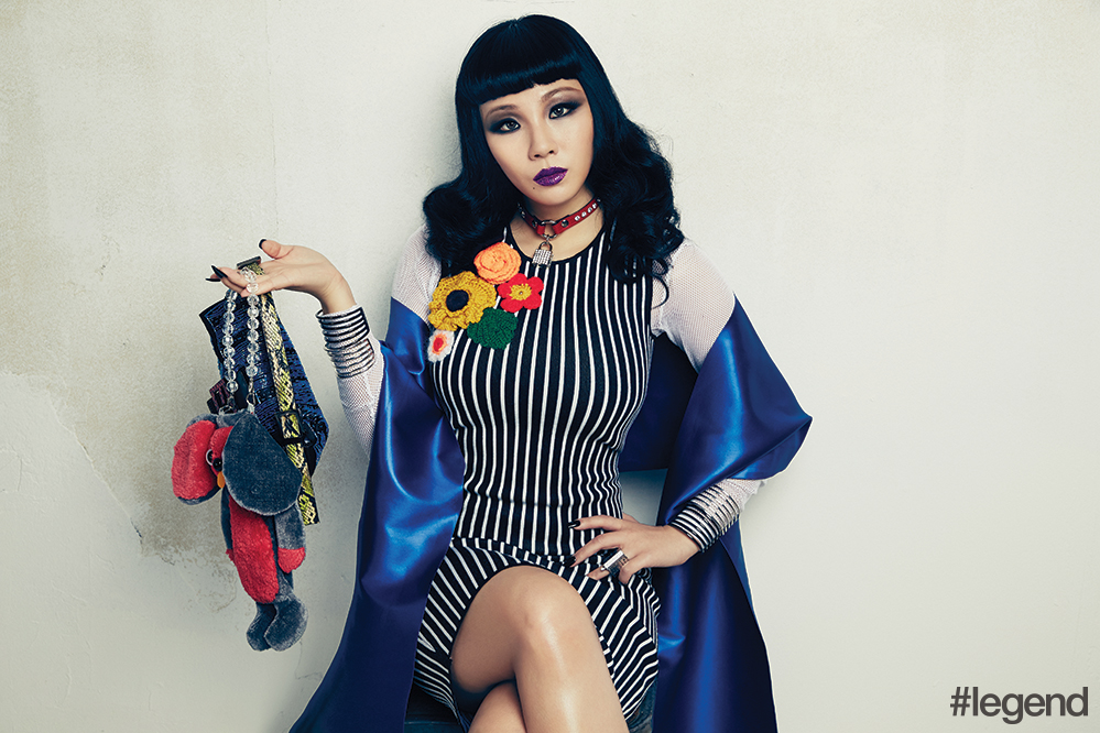 "CL Reveals ""The Only Thing I Wanted To Be Besides An Artist And A Dancer Was A Nun"""