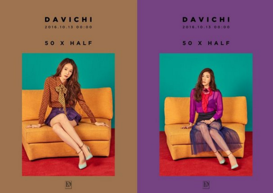 Davichi Releases Individual Concept Images For Comeback