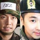 Lee Seung Gi And TVXQ's Yunho Meet Up In The Military