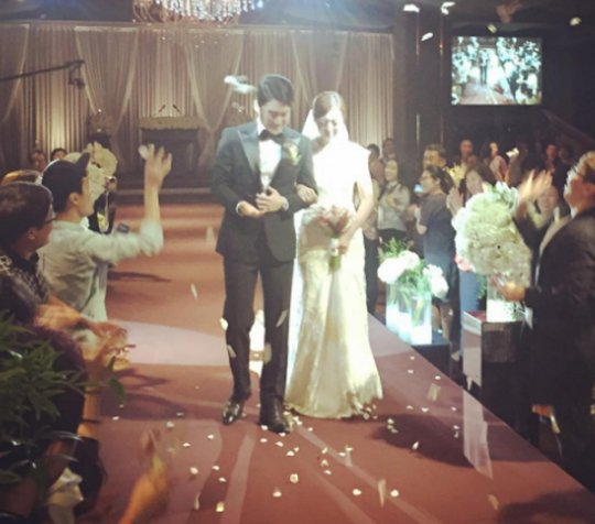 Song Chang Eui wedding 2