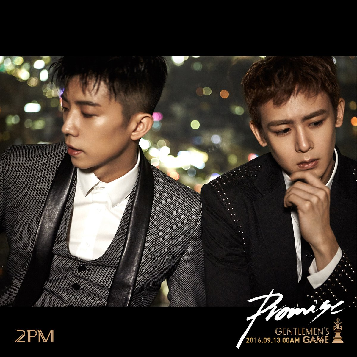 "Update: 2PM Rocks Evening Wear In New Teaser Images For ""Gentlemen's Game"""