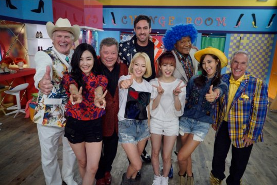 "Watch: Girls' Generation Appears On American Remake Of ""Grandpas Over Flowers"""