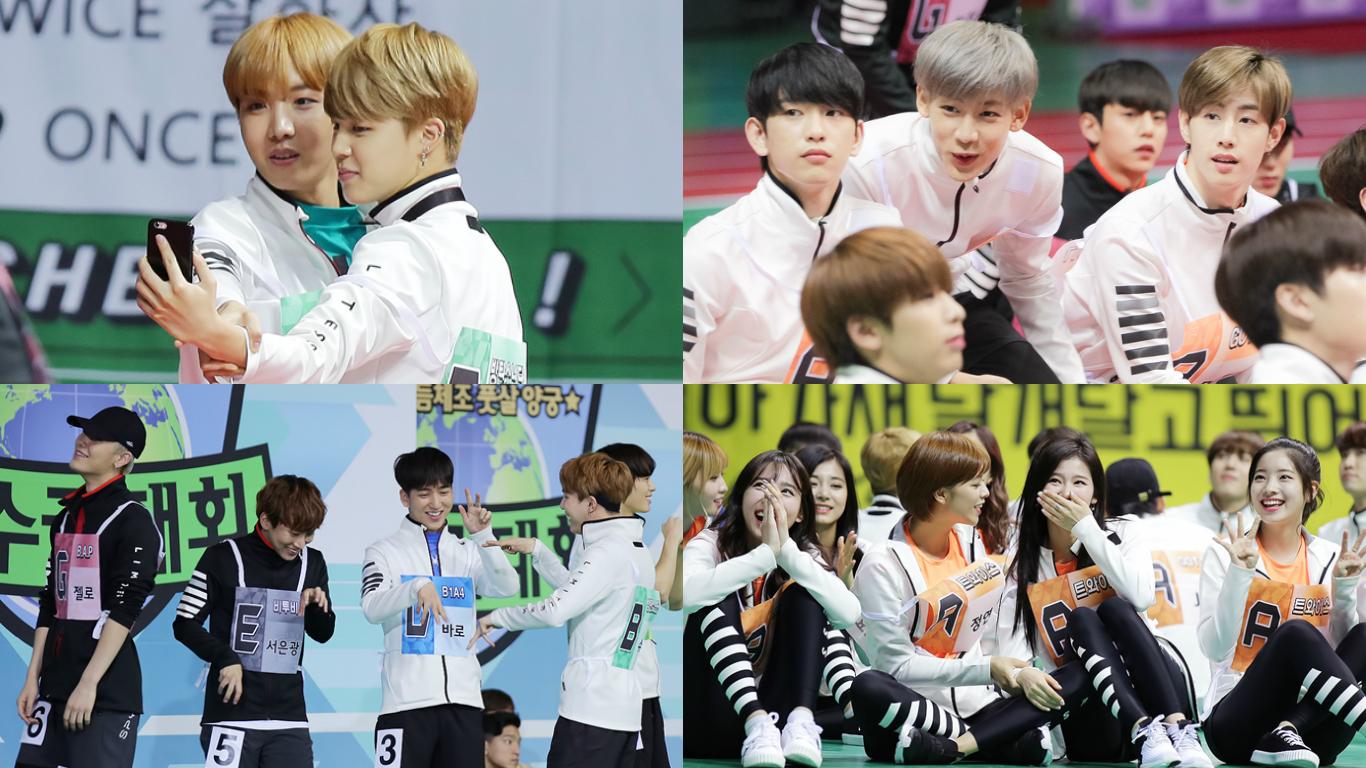 """Idol Star Athletics Championships"" Shares Photos Of BTS, GOT7, TWICE, MAMAMOO, And More"