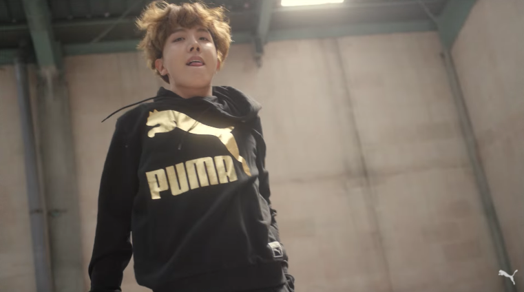 Watch: BTS's J-Hope Breaks Out The Dance Moves In New Ad For PUMA
