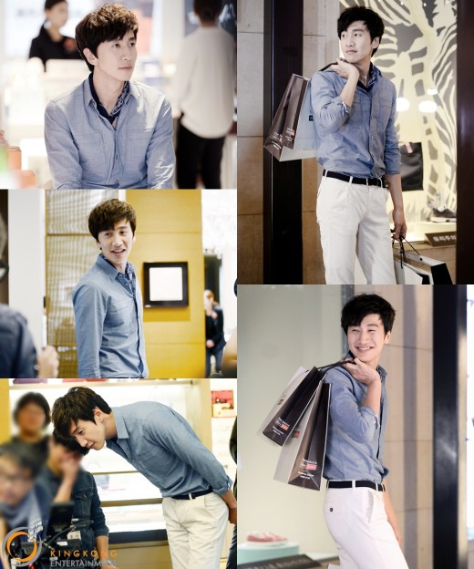 Lee Kwang Soo Looks Charming As He Models For Shilla Duty Free