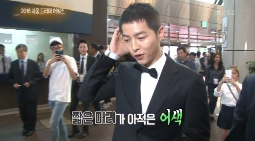 Song Joong Ki Reveals Thoughts On New Short Hair And Park Bo Gum's Popularity