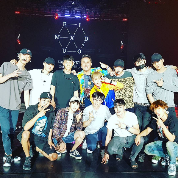 Yoo Jae Suk Trends Worldwide Following Impressive Performance With EXO