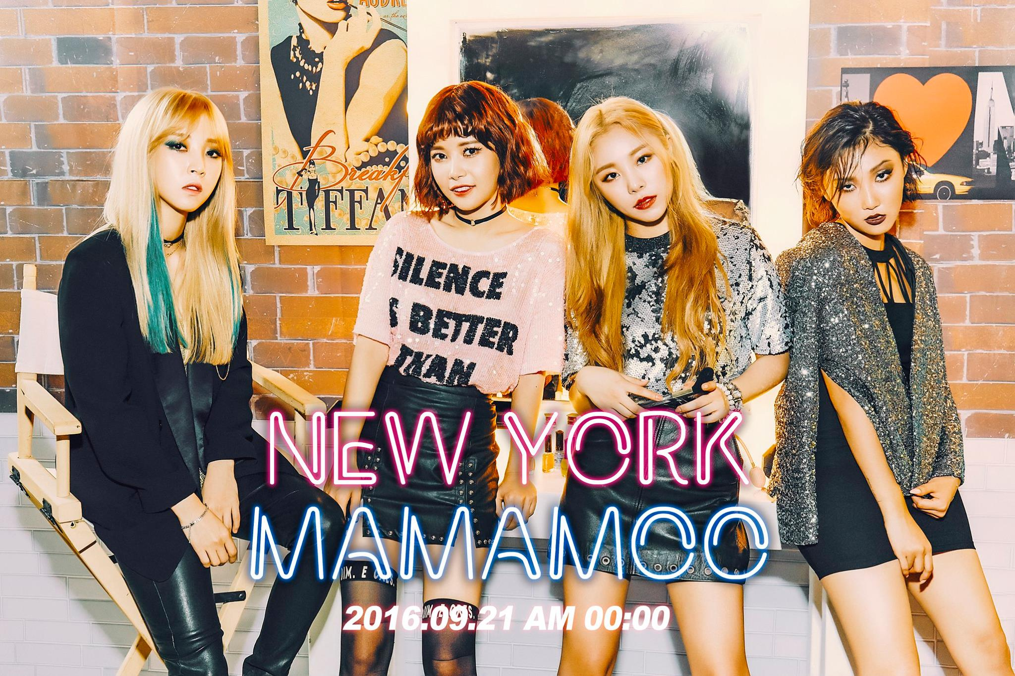 MAMAMOO Teases Rocking Transformation For New Digital Single