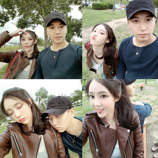 Super Junior's Sungmin And Wife Kim Sa Eun Go On A Sweet Park Date While He's On Leave