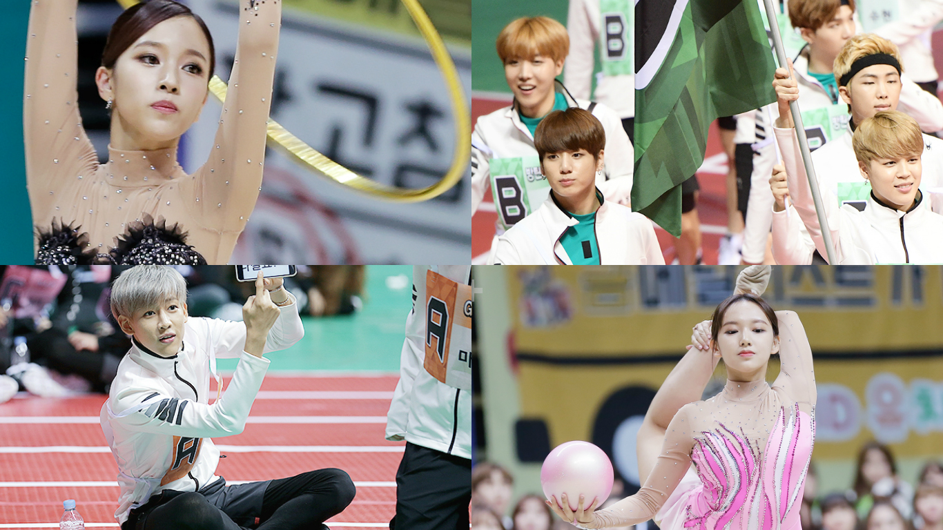"""Idol Star Athletics Championships"" Shares More Fun Photos And First Glimpse Of Rhythmic Gymnastics"