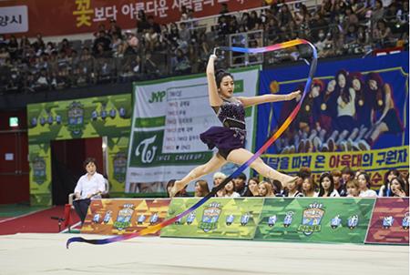 aoa chanmi rhythmic gymnastics