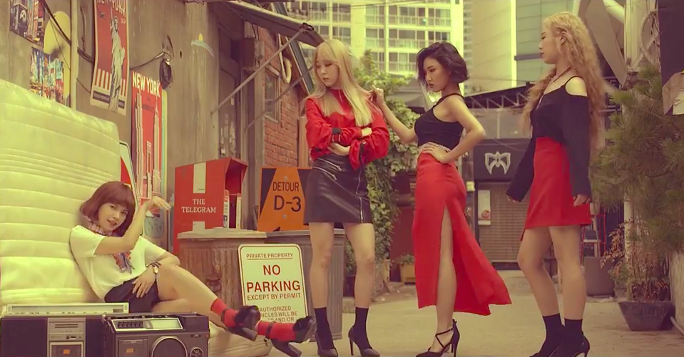 "Watch: MAMAMOO Shares Glimpse Of ""New York"" MV With Teaser Video"